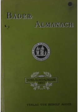 Bader - Almanach Mitteilungen