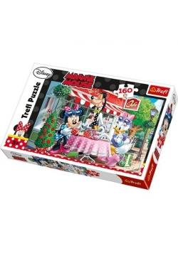 Puzzle 160 Minnie i Daisy w kawiarni TREFL