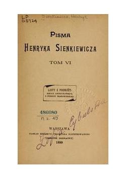 Pisma, Tom VI, 1899 r.