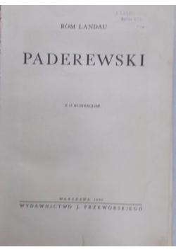 Paderewski , 1935 r.