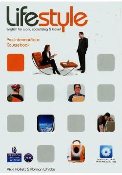 Lifestyle Pre-intermediate Coursebook z płytą CD