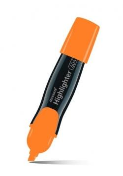 Zakreślacz 604 pomarańczowy (12szt) MONAMI
