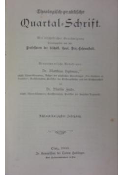 Theologisch-praktische Quartalschrift, 1905 r.