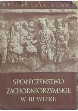 Społeczeństwo zachodniorzymskie w III wieku