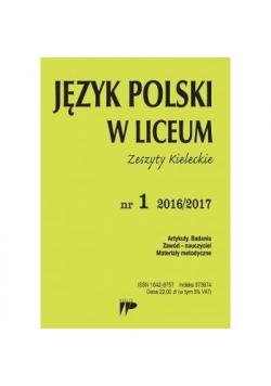 Język Polski w Liceum nr.1 2016/2017