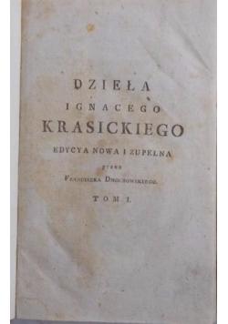 Dzieła poetyckie Ignacego Krasickiego, 1803 r.