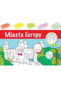 Miasta Europy pokoloruj