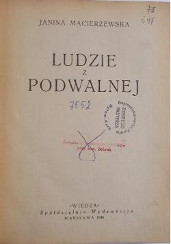 Ludzie z Podwalnej, 1948r