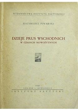 Dzieje Prus Wschodnich w czasach nowożytnych, 1946r.