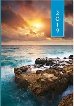 Terminarz 2019 A5 Kolorowy - wybrzeże