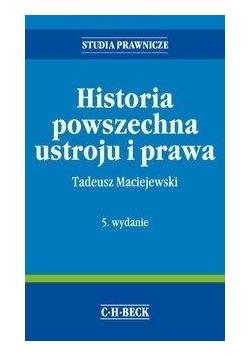 Historia powszechna ustroju i prawa w.5