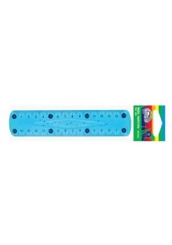 Linijka plastikowa elastyczna 15cm FIORELLO