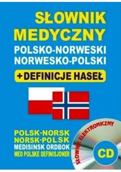 Słownik medyczny polsko-norweski + CD