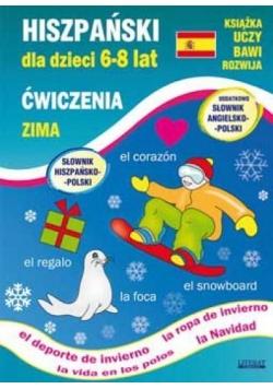 Hiszpański dla dzieci 6-8 lat. Zima