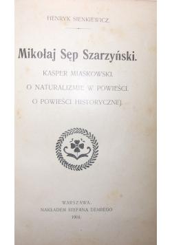 Pisma młodociane, 1904 r.