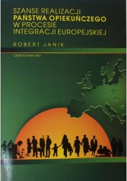 Szanse realizacji państwa opiekuńczego w procesie integracji europejskiej