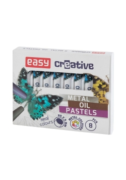Pastele olejne 8 kolorów EASY