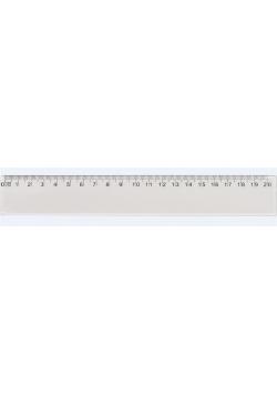 Linijka plastikowa 20cm GRAND