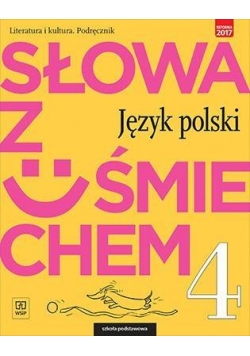 J.Polski SP  4 Słowa z uśmiechem Podr. lit. i kult