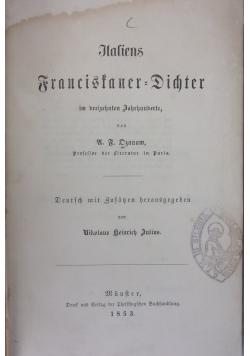 Italiens Francifaner Dichter, 1853 r.
