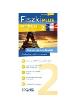 Francuski Fiszki Plus dla śred. zaaw. 2