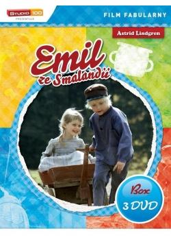 Emil ze Smalandii (BOX 3xDVD)