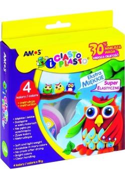 Ciasto-piasto Amos - 4 kolory