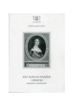 XXV aukcja książek i grafiki