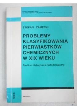 Problemy klasyfikowania pierwiastków chemicznych w XIX wieku