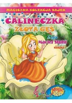 Magiczna Kolekcja Bajek T.7 Calineczka/Złota..+ CD