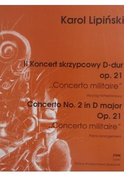 II Koncert skrzypkowy D- dur