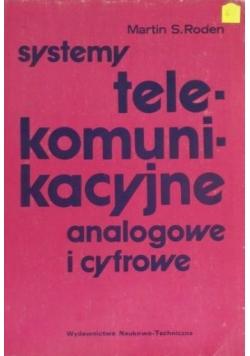 Systemy telekomunikacyjne analogowe i cyfrowe