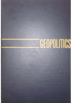 Geopolitics the struggle for and power, 1942r.