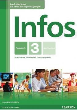 Infos 3 KB kurs wieloletni + CD PEARSON