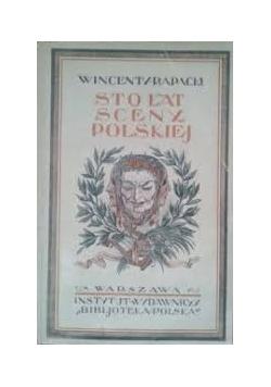Sto lat sceny polskiej, 1925 r.