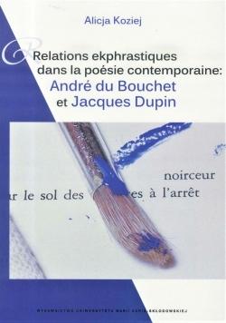 Relations ekphrastiques dans la poesie...