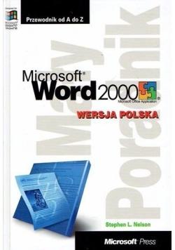 Microsoft word 2000. Mały poradnik