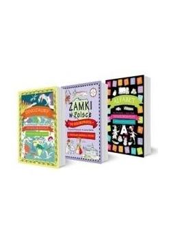 Pakiet: Alfabet / Dinozaury /Zamki do kolorowania