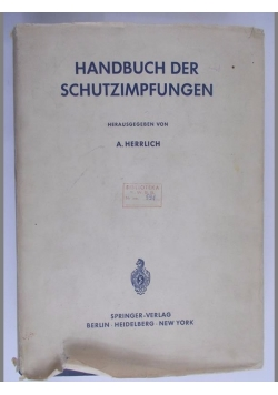 Handbuch der schutzimpfungen