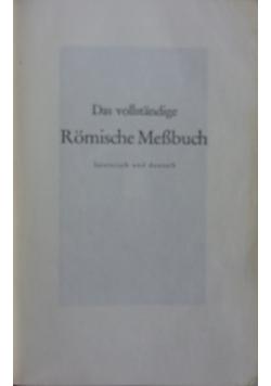Das vollstandige Romische Messbuch