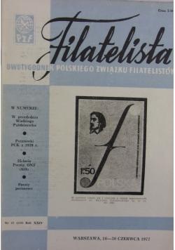Filatelista, nr 12, 1977