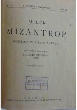 Mizantrop, 1923r.
