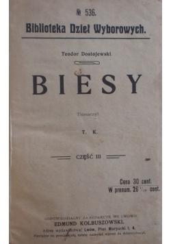 Biesy, 1908r.