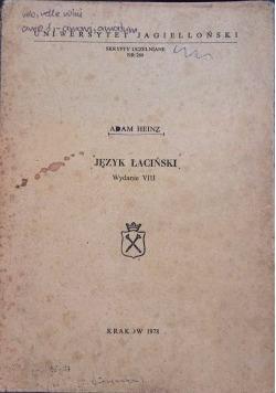 Język łaciński, wydanie VIII