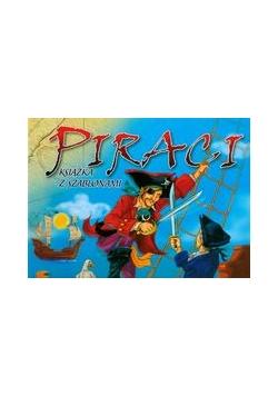 Piraci książka z szablonami