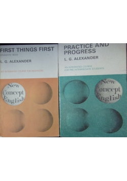 First Things First/Practice and Progress