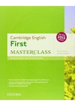Cambridge English First Masterclass SB
