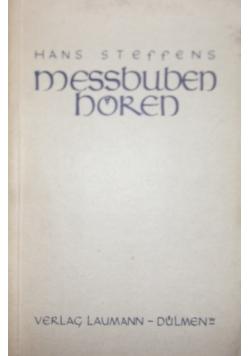 Messbuben horen, 1939 r.