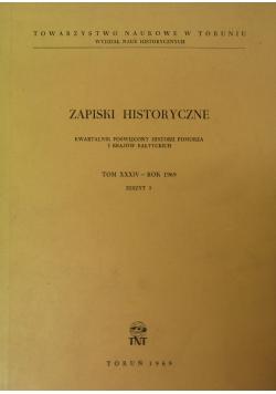 Zapiski historyczne