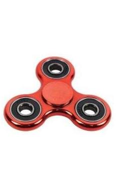 Spinner metalizowany czerwony